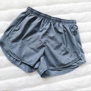 Nike Dri-fit Gray Print Shorts